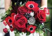 Des fleurs rouge pour donner du peps