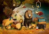 Puzzle Lion & Co