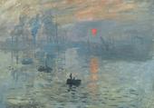 Impression soleil levant, Claude Monet