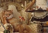 Puzzle sa majesté le chat