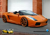 lamborghini gallardo orange mjc206cc