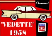 Simca-Vedette Chambord