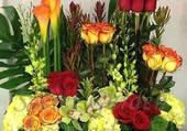 Magnifique montage floral