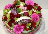 Puzzle Gateau de fleurs