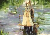 goloubetski, vieux ponton