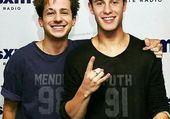 Charlie Puth and Shawn Mendes