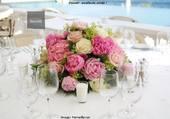 Composition florale pour centre de table