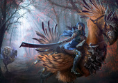 Puzzle Oiseau de guerre