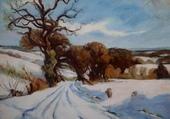 chemin en hiver, Livoff