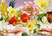 Joli tableau de fleurs