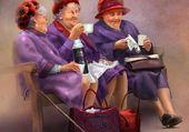 Les Mamies en picnic
