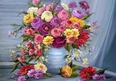 superbe bouquet printannier