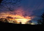 coucher de soleil,fin journée septembre