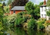Puzzle Village dans l'Herefordshire, GB