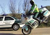 motard guardia civil