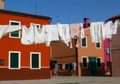 Lessive à Burano