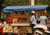 Les baguettes à Siem Rep
