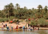 Puzzle Lavandieres du drâa - Maroc