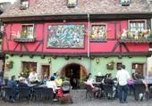 Décor de Pâques en Alsace