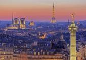 Puzzle vue sur Paris