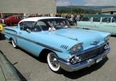 chevrolet bel air impala 1958