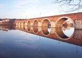 Puzzle pont à Moissac