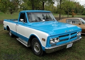 pick up gmc 1968