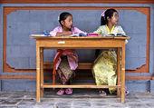 Puzzle écoliéres à Bali