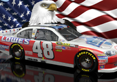 jimmy johnson patriot nascar