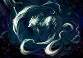Puzzle Magic White Wolf