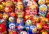 Puzzle Russian nesting doll