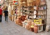 bazar dans la ville de Bari