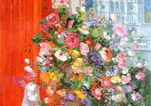 Puzzle Bouquet,Montmartre, M. Prévost
