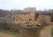Chateau de Guédelon (Bourgogne) en 2009