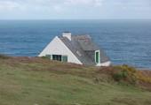 Ouessant maison sur la falaise