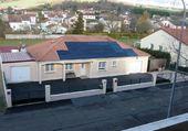 maison avec panneau solaire claude