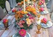 La table est préparée