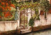 Bord de canal par Marie-Claire HOUMEAU