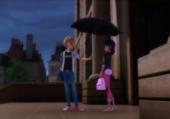 Miraculous Adrinette Scène du Parapluie
