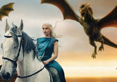Daenerys et ses dragons