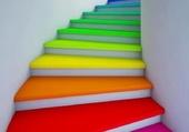 L'escalier coloré