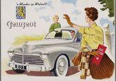 pub rétro Peugeot 203