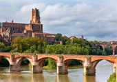 Puzzle Albi et la cathedrale Ste Cécile