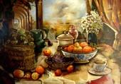Nature et fruits - L.Angelin