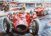 Puzzle Course voiture vintage