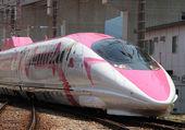 Un TGV au couleurs d'hello kitty