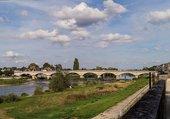Le pont magnifique d'Amboise