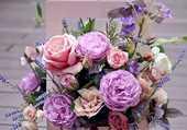 Puzzle Boite de  fleurs