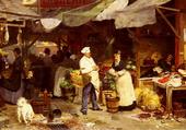 Marché de Maubeuge- G. Victor-Gabriel