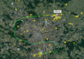 Puzzle Orly Roissy en avion